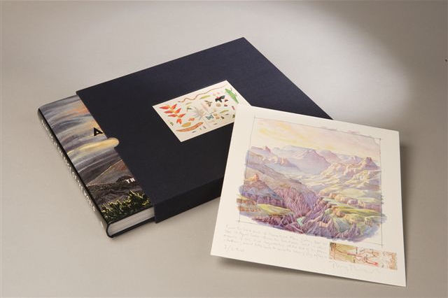 Painting at the Edge of the World: The Watercolours of Tony Foster - Limited Edition